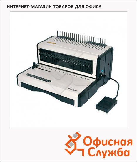 Брошюровщик электрический Office Kit B2125E, на 25 листов, переплет до 500 листов, пластиковая пружина