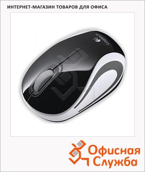 Мышь беспроводная оптическая USB Logitech Wireless Mini
