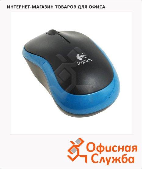 Мышь беспроводная оптическая USB Logitech