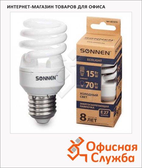 Лампа энергосберегающая Sonnen ECO Т2