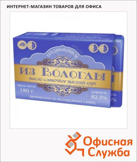 Масло сливочное Из Вологды Традиционное высший сорт