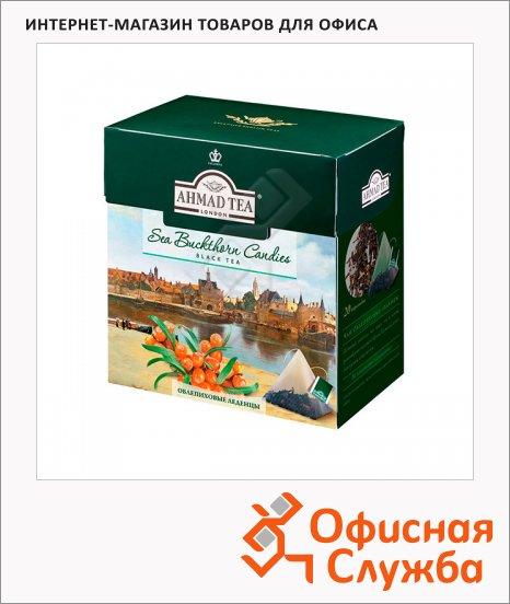 Чай Ahmad, черный, в пирамидках, 20 пакетиков