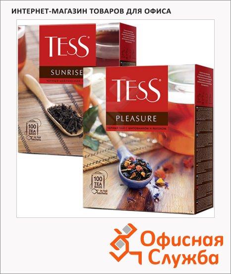 Чай Tess, черный, 100 пакетиков