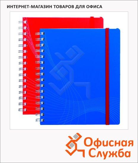 Блокнот Avery Zweckform Notizio Standard, 90г/м2, 90 листов, А5, в линейку, сатин, на спирали