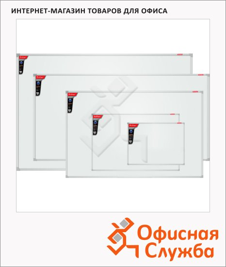 Доска магнитная маркерная Berlingo Premium, лаковая, белая, алюминиевая рама