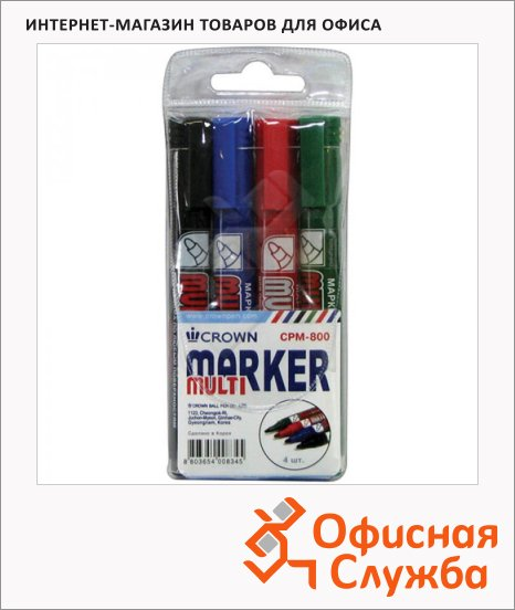 Маркер перманентный Crown Multi Marker