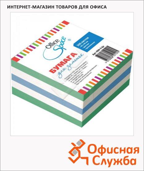 Блок для записей с клейким краем Office Space, пастельный, 90х90мм