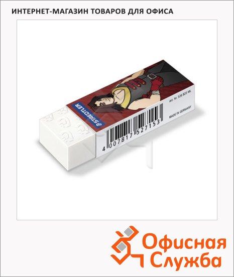 Ластик Staedtler Rasoplast Manga B20, 65x23x13мм, белый