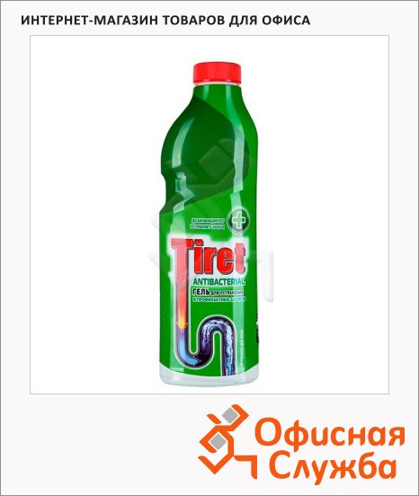 Средство для прочистки труб Tiret Антибактериальный, гель