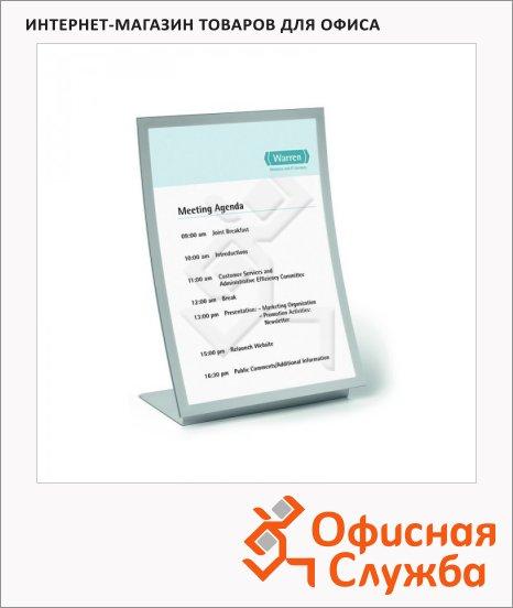 Дисплей настольный Durable Duraview, с рамкой