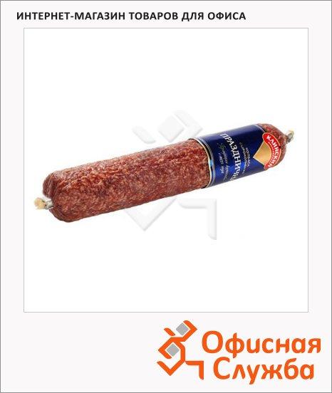 фото: Колбаса Клинский Зернистая сырокопченая 300г