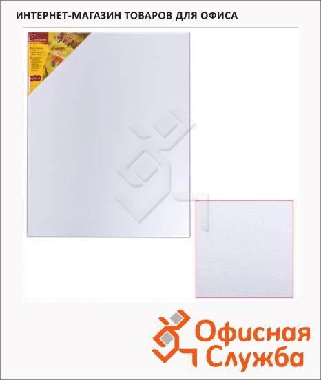 Холст грунтованный Невская Палитра, 400 г/м2, лен, среднее зерно