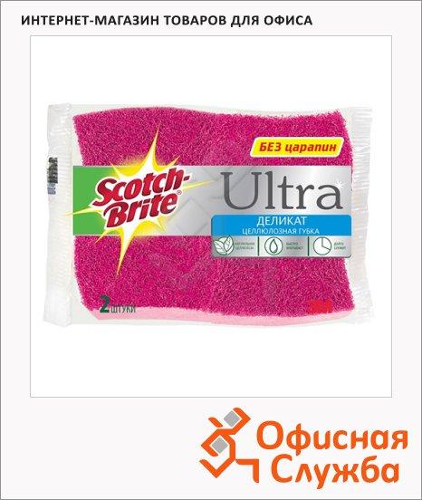 Губка для мытья посуды Scotch-Brite Ultra Деликат