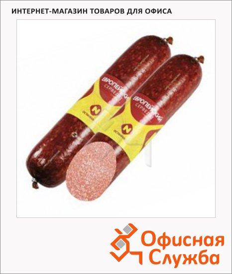 фото: Колбаса сервелат варено-копченый Европейский 840г