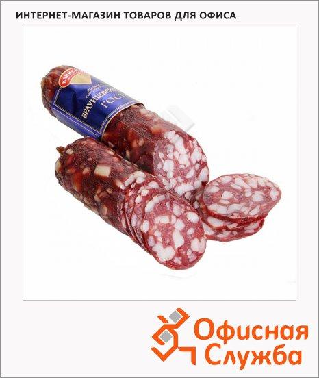 Колбаса Клинский сырокопченая Брауншвейгская, 1кг
