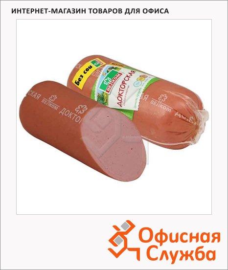 Колбаса Велком вареная в белковой оболочке Докторская, 620г