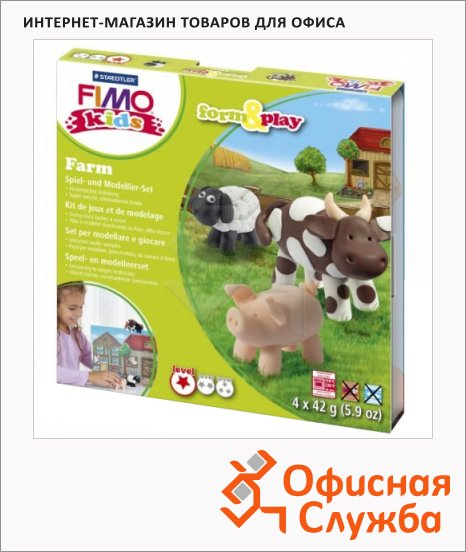 ����� ��� ����� �� ���������� ����� Fimo Kids create&play �����, 4 ����� x42�