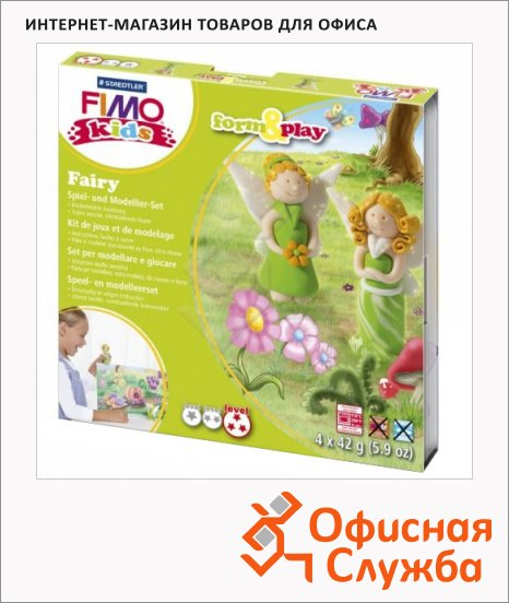 ����� ��� ����� �� ���������� ����� Fimo Kids create&play ���, 4 ����� x42�