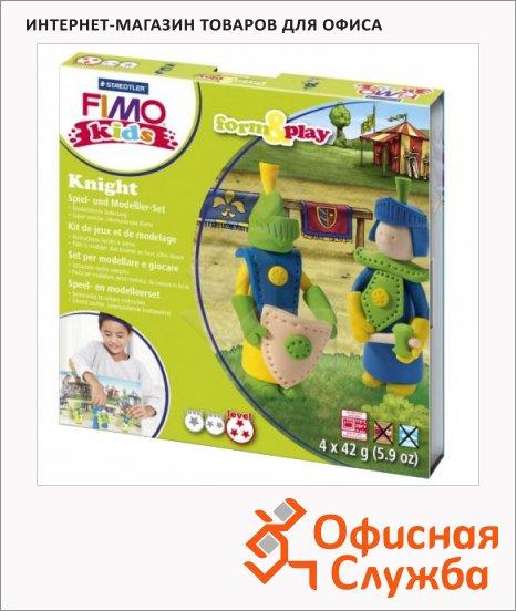 ����� ��� ����� �� ���������� ����� Fimo Kids create&play ������, 4 ����� x42�