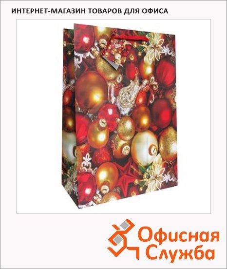 фото: Пакет подарочный новогодний 33x45.5x10см EUX/140409/160402