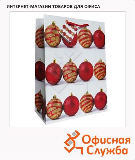 Пакет подарочный новогодний 33x45.5x10см, EUX/140416