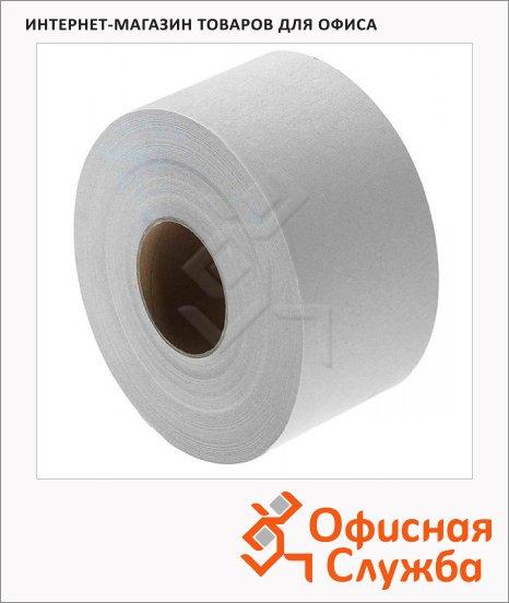 Туалетная бумага Vclean в рулоне, серая, 480м, 1 слой