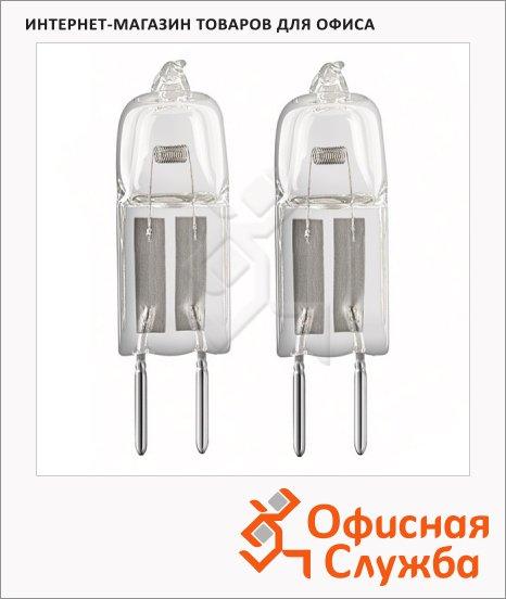 Лампа галогенная Osram ST, G4, теплый свет, 2 шт/уп