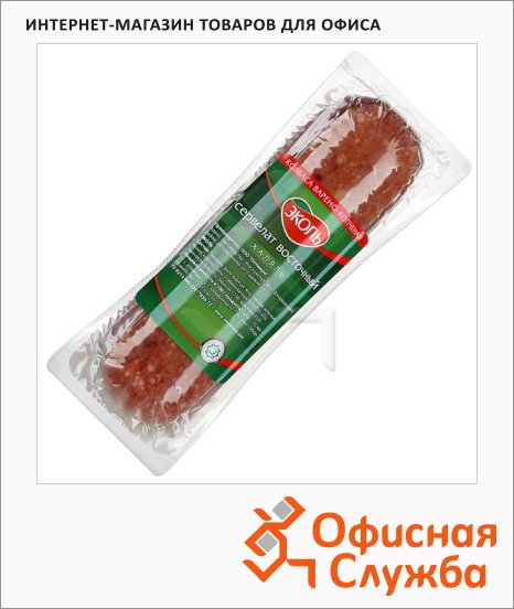 Колбаса Эколь варено-копченая сервелат, кг