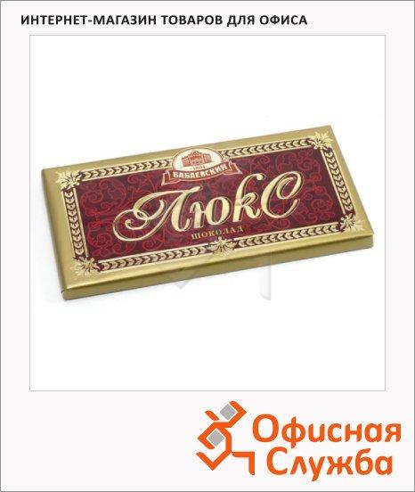 фото: Шоколад Бабаевский Люкс темный 100г