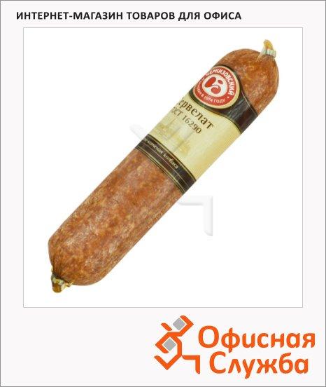 Колбаса Черкизовский сервелат варено-копченая, кг