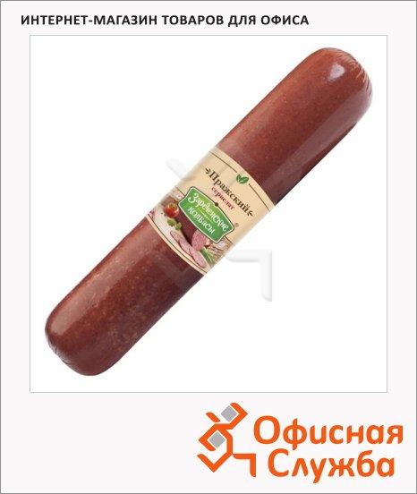 Колбаса Зареченские Колбасы варено-копченая Пражский сервелат, кг