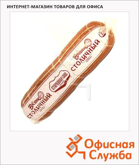 Колбаса Стародворские Колбасы Столичный сервелат варено-копченая, кг