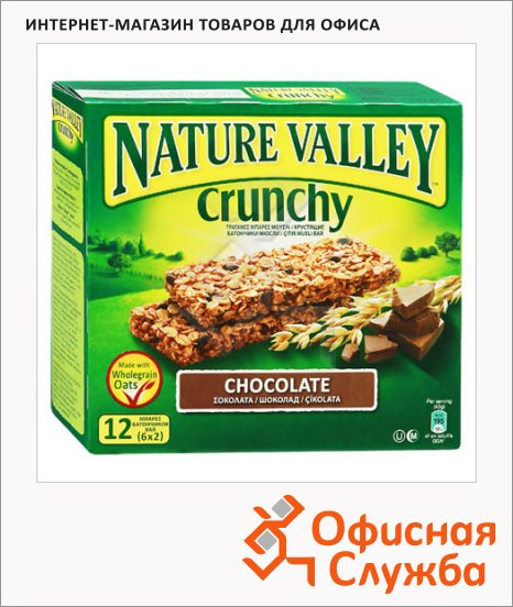 Батончик мюсли Nature Valley, 6шт х 42г