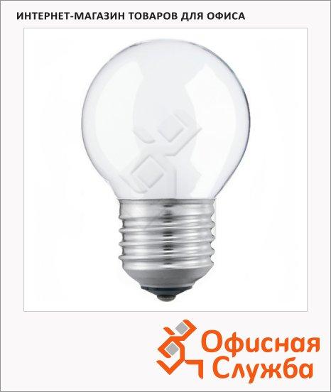 Лампа накаливания Osram, E27, стандартная матовая, 5шт/уп
