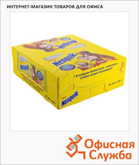 Батончик шоколадный Nesquik, 36шт х 28г