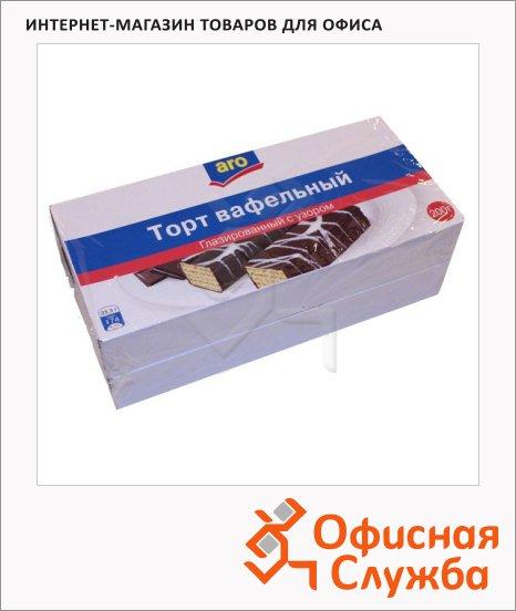 фото: Торт вафельный глазированный шоколадный 2шт х 200г