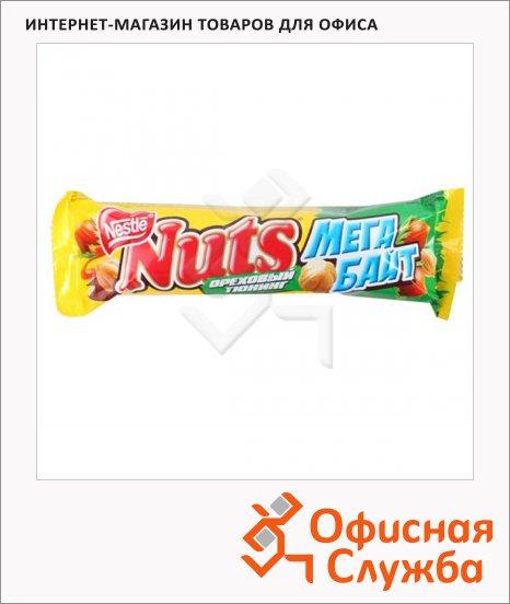 фото: Батончик шоколадный Nuts Мегабайт 24шт х 66г