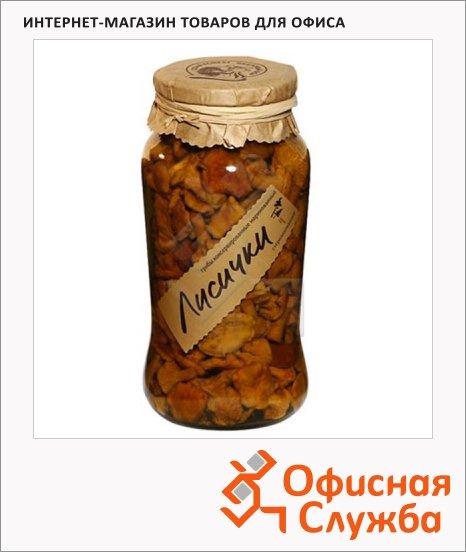 Грибные консервы Таёжный Сбор лисички маринованные