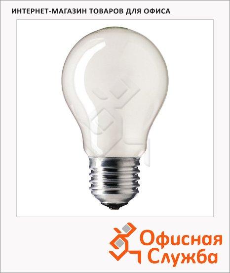 Лампа накаливания Osram, E27, стандартная матовая