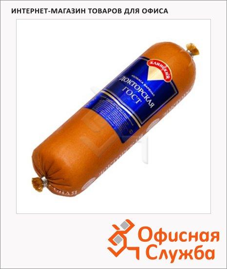 Колбаса Клинский вареная Докторская, 600г