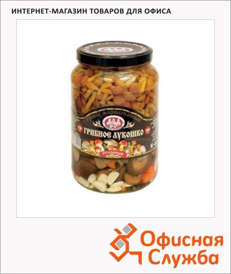 Грибные консервы Скатерть-Самобранка грибное лукошко маринованные