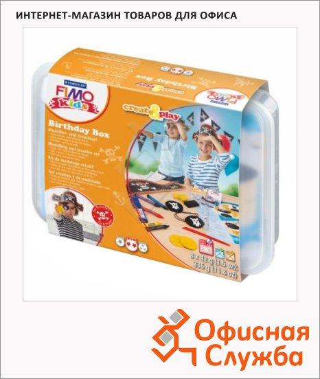 Набор для лепки из полимерной глины Fimo Kids create&play Пират, 8 цвета x42г