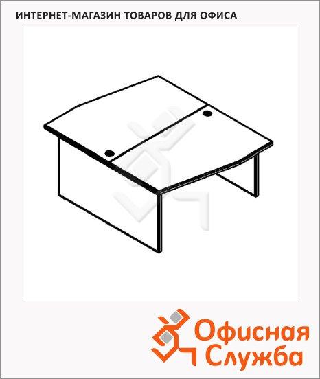 Стол письменный Skyland Xten X2CT 149.1, двойной, 1400х1810х750мм