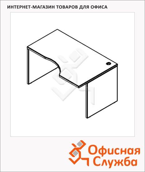 Стол письменный Skyland Xten XCET 149, эргономичный, правый, 1400х900х750мм