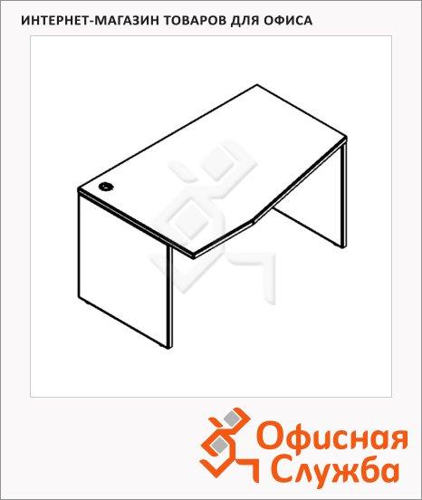 Стол письменный Skyland Xten XCT 149, эргономичный, левый, 1400х900х750мм