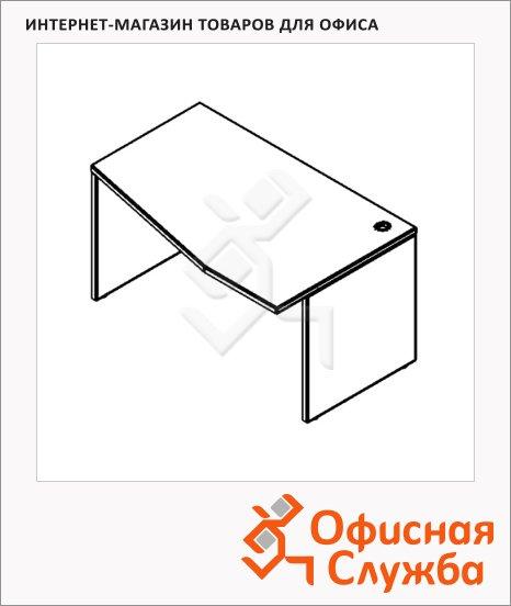 Стол письменный Skyland Xten XCT 149, эргономичный, правый, 1400х900х750мм