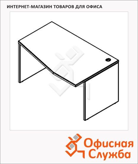 Стол письменный Skyland Xten XCT 169, эргономичный, правый, 1600х900х750мм
