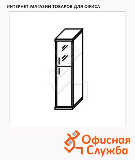 Шкаф-колонка Skyland Imago СУ-1.7, правый, 403х365х1975мм