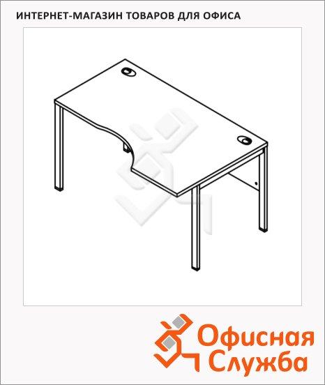 Стол письменный Skyland Xten-M XMCET 149, эргономичный, правый, 1400х900х750мм