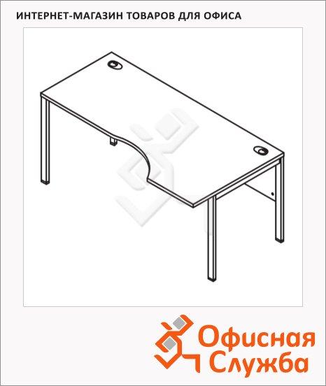 Стол письменный Skyland Xten-M XMCET 169, эргономичный, правый, 1600х900х750мм